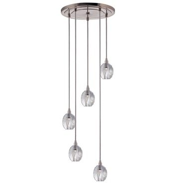 Naples 005 5 Light Pendant by Hudson Valley Lighting | 3615-SN-S-005
