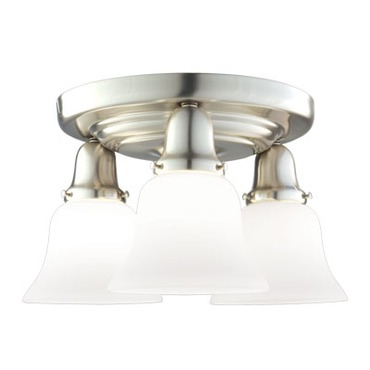 Edison 341 Semi Flush Ceiling Light by Hudson Valley Lighting | 587-SN-341