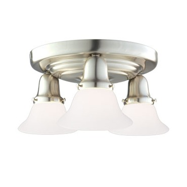Edison 415 Semi Flush Ceiling Light