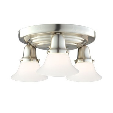 Edison 415M Semi Flush Ceiling Light by Hudson Valley Lighting | 587-SN-415M