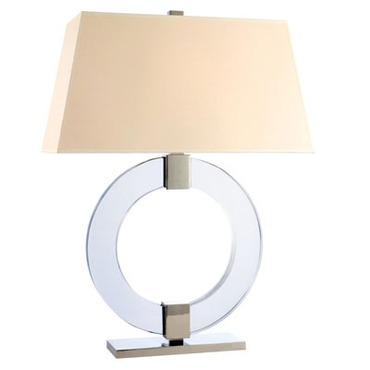 Roslyn Table Lamp by Hudson Valley Lighting | L608-PN-WS