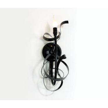 Ruban Plie Wall Sconce by Jacco Maris | RP01CW.BL
