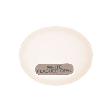 PAR30 White Flashed Opal Lens by Abrisa | PAR30 WHITE FLASHED