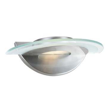 Helius Glass Wall Sconce by Access   50483-BS/CFR