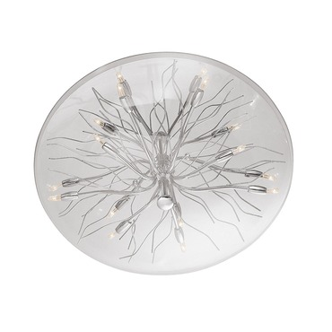 Sol Glass Dome Flush Mount