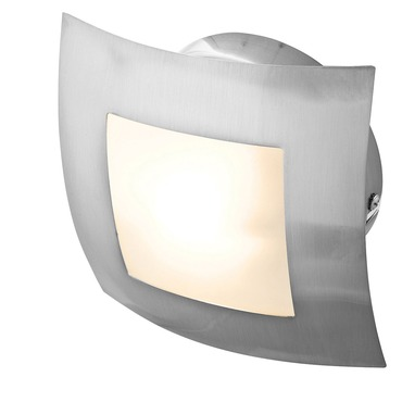 Argon Square Wall Light by Access | 53342-BS/OPL