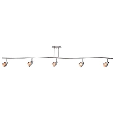 Comet Linear Semi Flush Ceiling Light by Access | 52031-BS/OPL