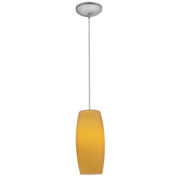 Cognac Cord Pendant by Access | 28070-2C-ORB/AMB
