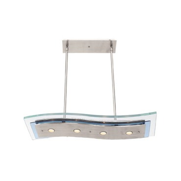 Aquarius Wave Linear Pendant