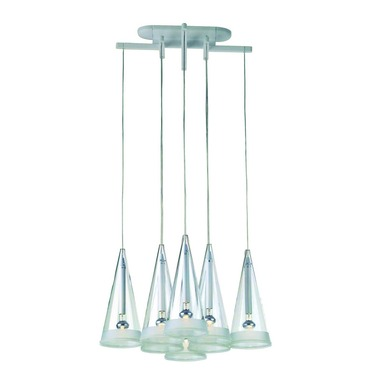 Fucsia 8 Light Suspension by Flos Lighting | FU241600