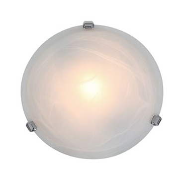 Nimbus Alabaster Ceiling Flush Mount