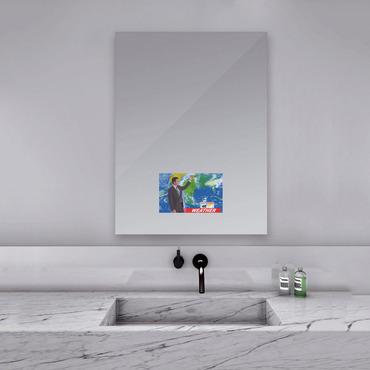 Loft Mirror with 15 inch TV