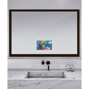 Stanford Mirror with 15 Inch TV by Electric Mirror | STA6040-AV