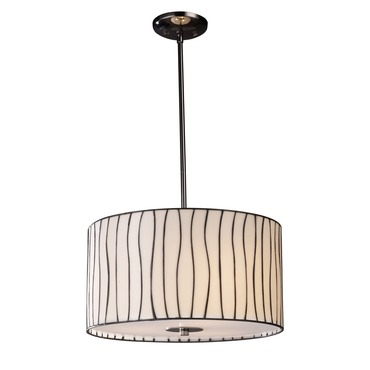 Lineas Pendant with Adapter Kit by Elk Lighting | 72046-3-LA