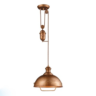 Farmhouse 1 Light Pendant by Elk Lighting | 65061-1