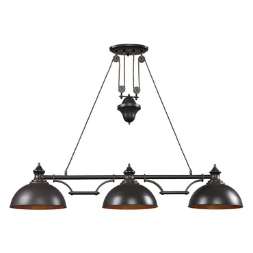 Farmhouse Linear Pendant Light