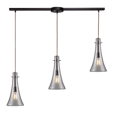 Menlow Park 60045-3L 3-Light Linear Pendant by Elk Lighting | 60045-3L