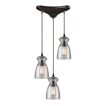 Menlow Park 60043-3 3-Light Cluster Pendant by Elk Lighting | 60043-3