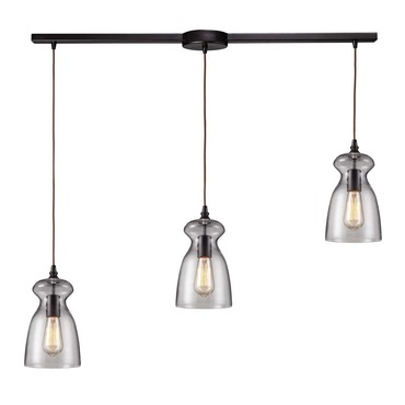Menlow Park 60043-3L 3-Light Linear Pendant