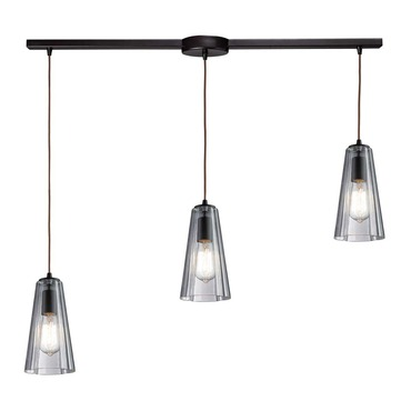 Menlow Park 60048-3L 3-Light Linear Pendant