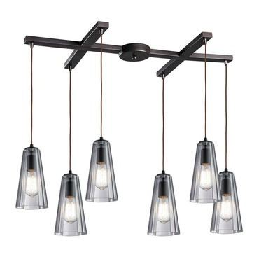 Menlow Park 60048-6 6-Light Pendant by Elk Lighting | 60048-6