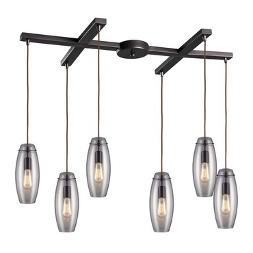 Menlow Park 60044-6 6-Light Pendant by Elk Lighting | 60044-6