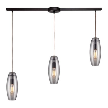 Menlow Park 60044-3L 3-Light Linear Pendant