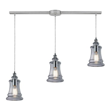 Menlow Park 60052-3L 3-Light Linear Pendant by Elk Lighting | 60052-3L