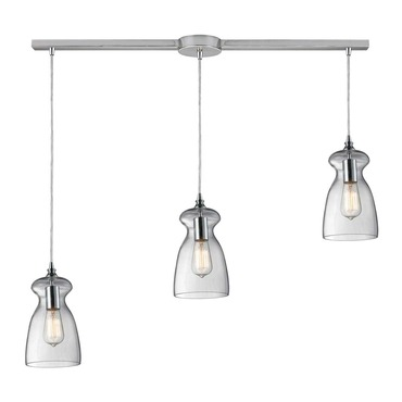 Menlow Park 60053-3L 3-Light Linear Pendant