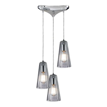 Menlow Park 60058-3 3-Light Cluster Pendant by Elk Lighting | 60058-3