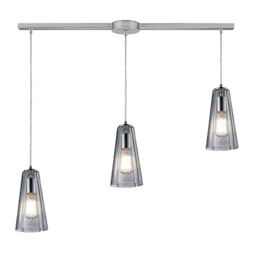 Menlow Park 60058-3L 3-Light Linear Pendant by Elk Lighting | 60058-3L