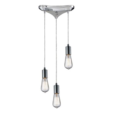 Menlow Park 60056-3 3-Light Cluster Pendant by Elk Lighting | 60056-3