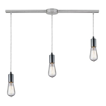 Menlow Park 60056-3L 3-Light Linear Pendant