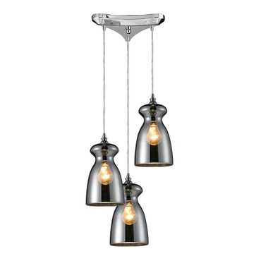 Menlow Park 60063-3 3-Light Cluster Pendant by Elk Lighting | 60063-3