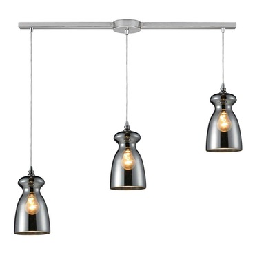 Menlow Park 60063-3L 3-Light Linear Pendant