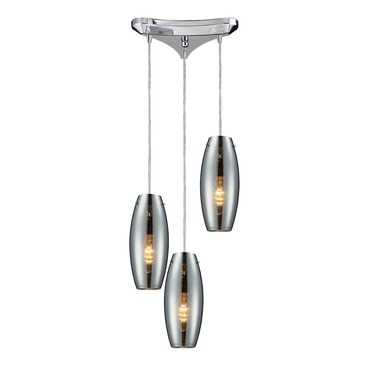 Menlow Park 60064-3 3-Light Cluster Pendant by Elk Lighting | 60064-3