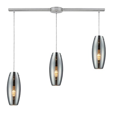 Menlow Park 60064-3L 3-Light Linear Pendant by Elk Lighting | 60064-3L