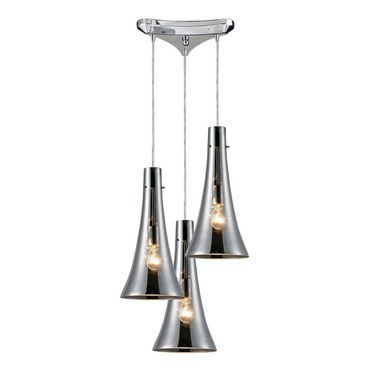 Menlow Park 60065-3 3-Light Cluster Pendant by Elk Lighting | 60065-3