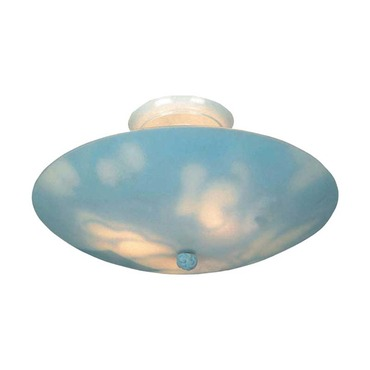 Kidshine Clouds Semi Flush Ceiling