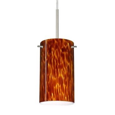 Stilo 7 Pendant by Besa Lighting | 1BT-440418-SN