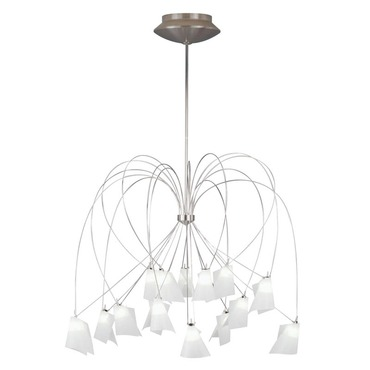 Rhapsody Chandelier by Tech Lighting | 700RHAP32C