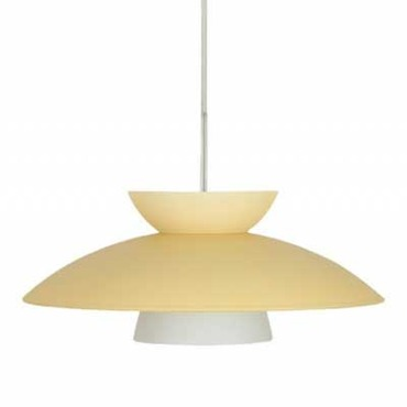 Trilo 15 Pendant by Besa Lighting | 1JT-451397-SN