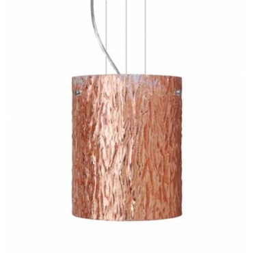 Tamburo Pendant by Besa Lighting | 1KG-4006CS-SN