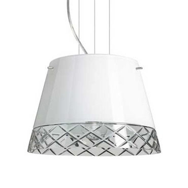 Amelia Pendant by Besa Lighting | 1KG-4393WC-SN