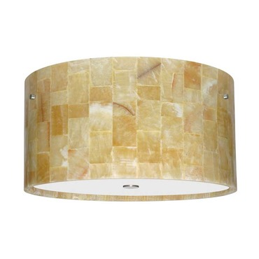 Tamburo 16 Semi Flush Ceiling by Besa Lighting | 1KM-4008MX-I3-SN