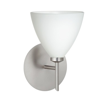 Mia Mini Wall Sconce by Besa Lighting | 1SW-177907-SN