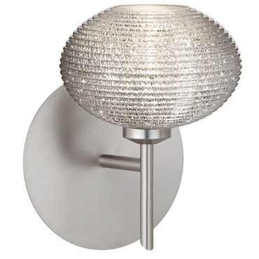 Lasso Wall Sconce by Besa Lighting | 1SW-5612GL-SN
