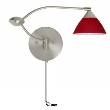 Domi Plug In Swing Arm Sconce
