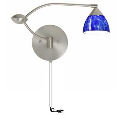 Divi Plug In Swing Arm Sconce