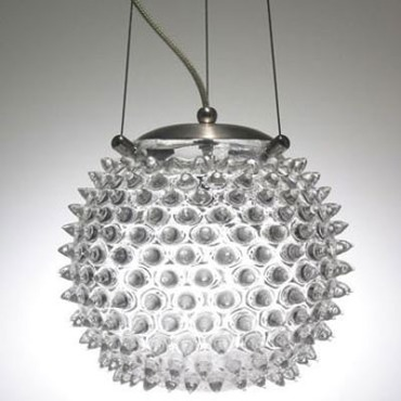 Urchin Orb Standard Pendant by Union Street Glass | uoptc